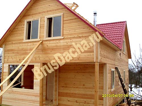 Перечень компаний, строительство домов из бруса