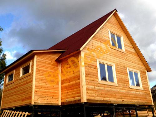 2. СК Брусовой Дом (с). Строим дома из бруса недорого под ключ .