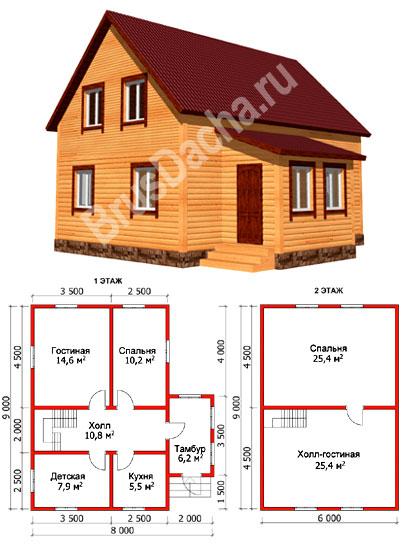 Дом 1 5 этажа - 09